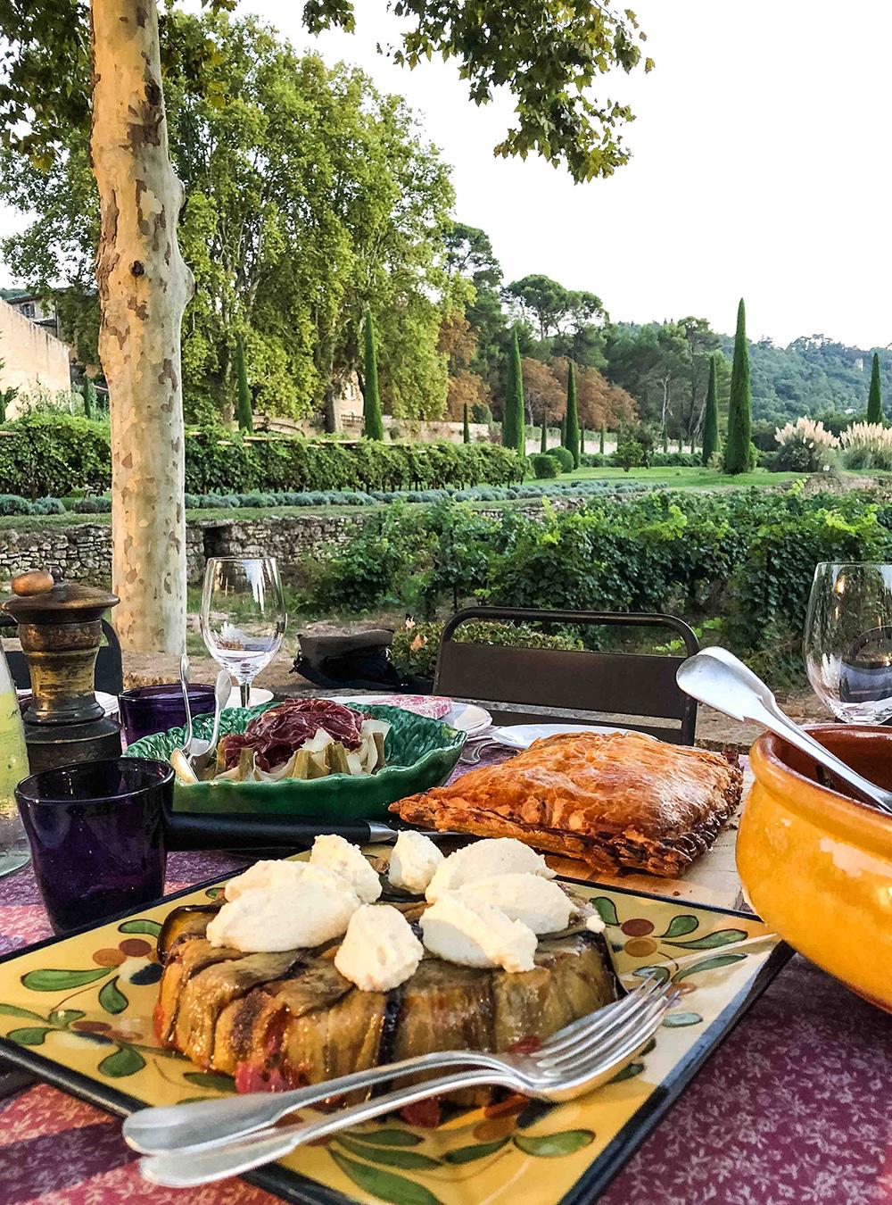 Weingut Château la Canorgue in Bonnieux von der Familie Margan und Dinner von Eric Sapet