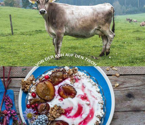 Von der Kuh auf den Tisch - weil Bio nicht gleich Bio ist - bei den Naturland Milch-Produzenten für REWE Bio
