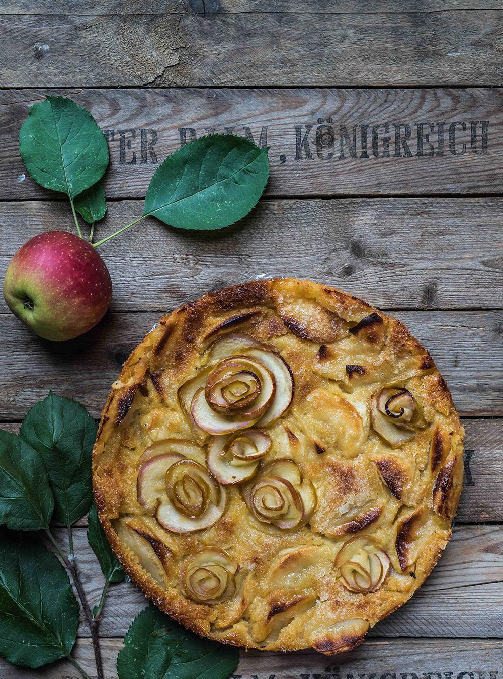Torta di Mele oder mein bester und schnellster italienischer Apfelkuchen