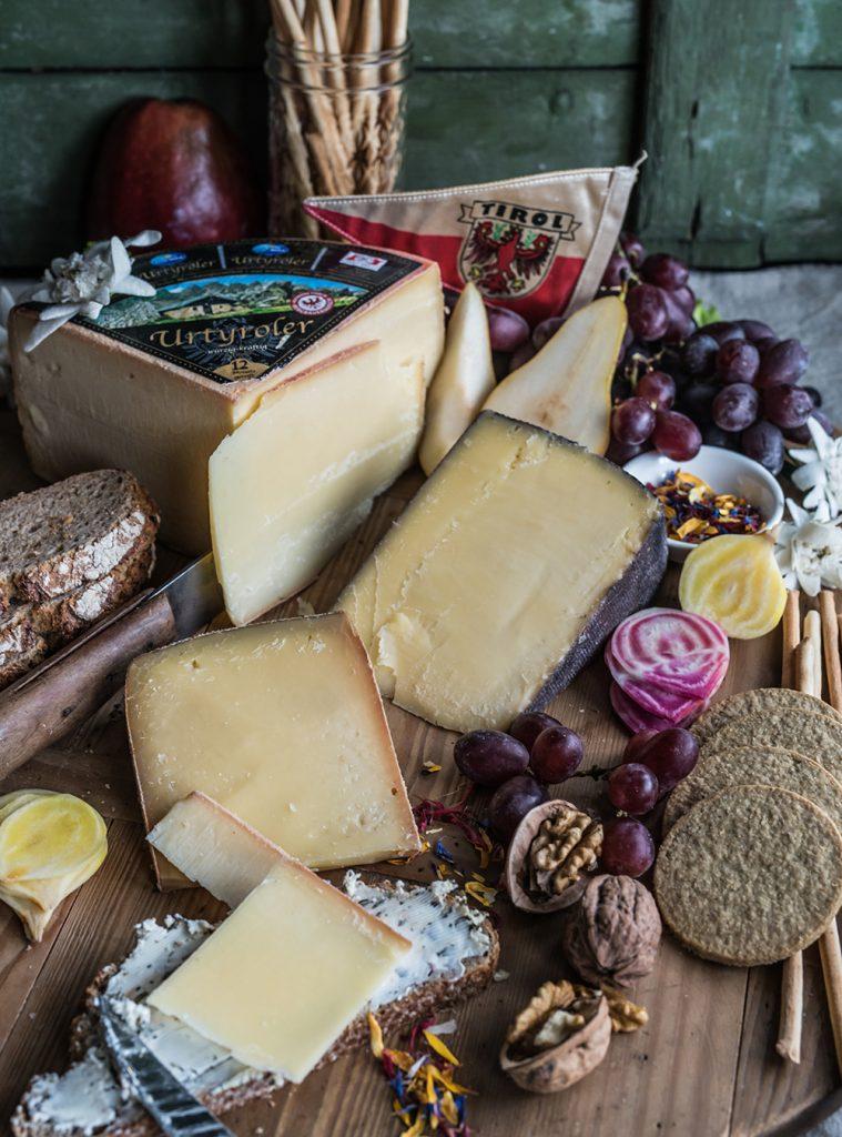 Käse aus Tirol und der Weg zu der perfekten Käseplatte