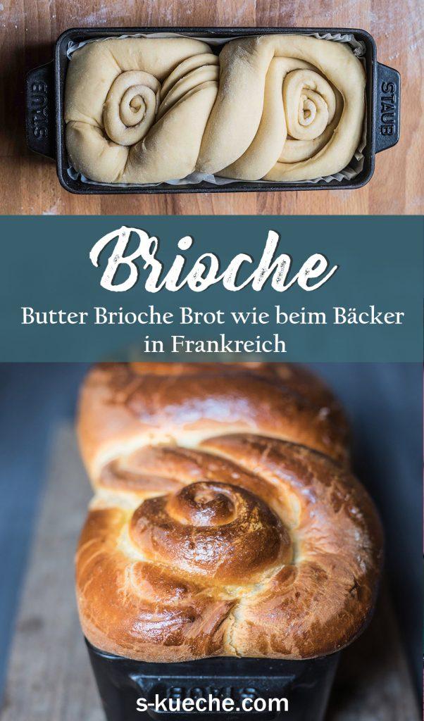 Brioche Russe  - Butter Brioche Brot wie in Frankreich -  La Vraie Brioche du Boulanger