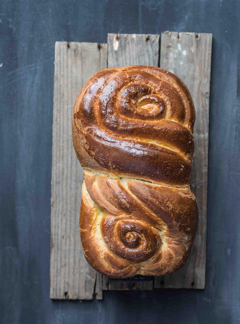 Brioche Russe - Butter Brioche Brot