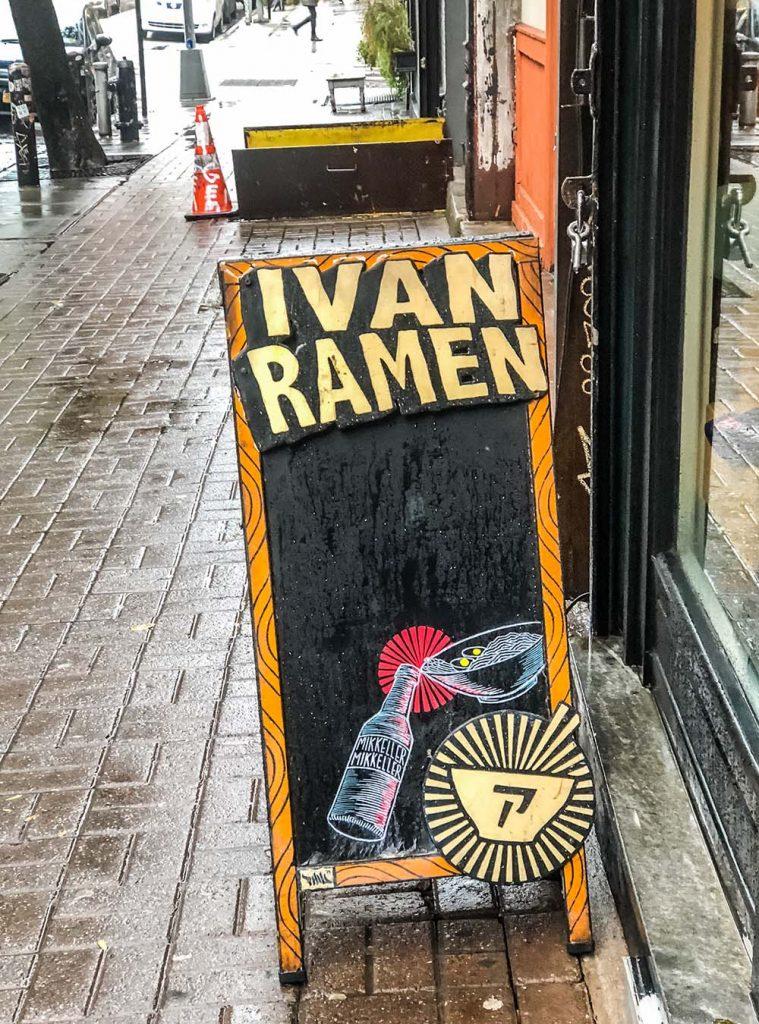 Ivan Ramen Clinton Street