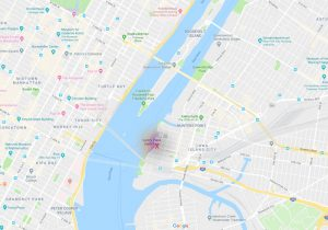 Map Queens Waterfront
