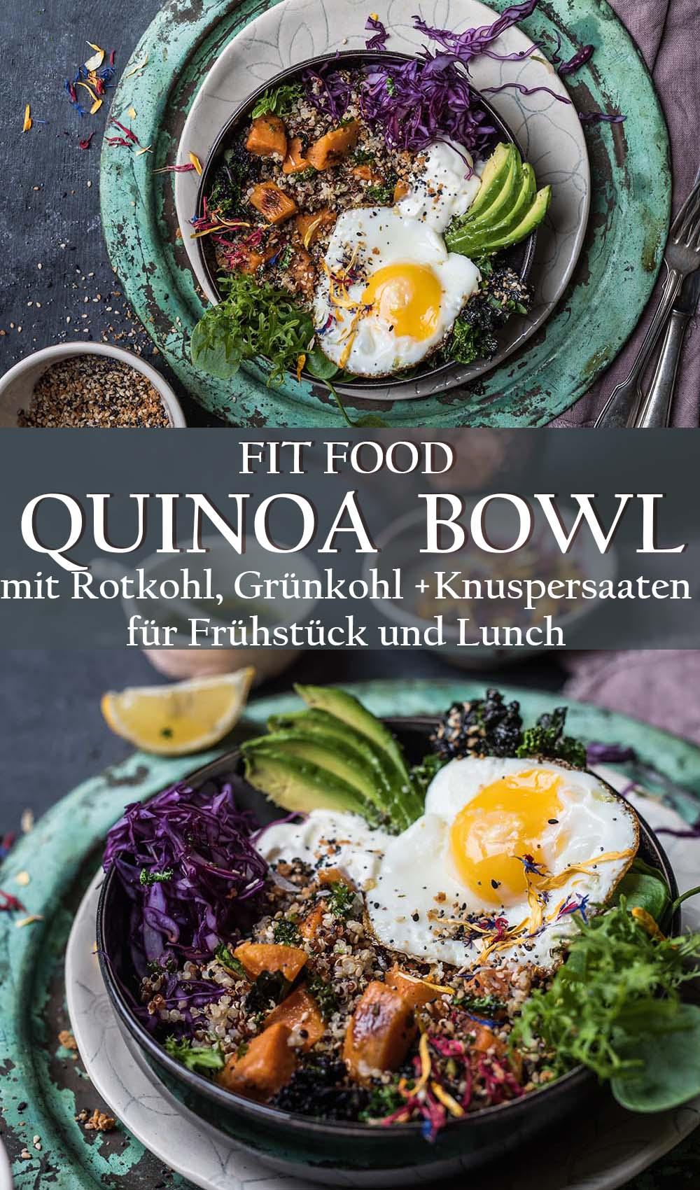 Sonntagsfrühstück Quinoa Bowl