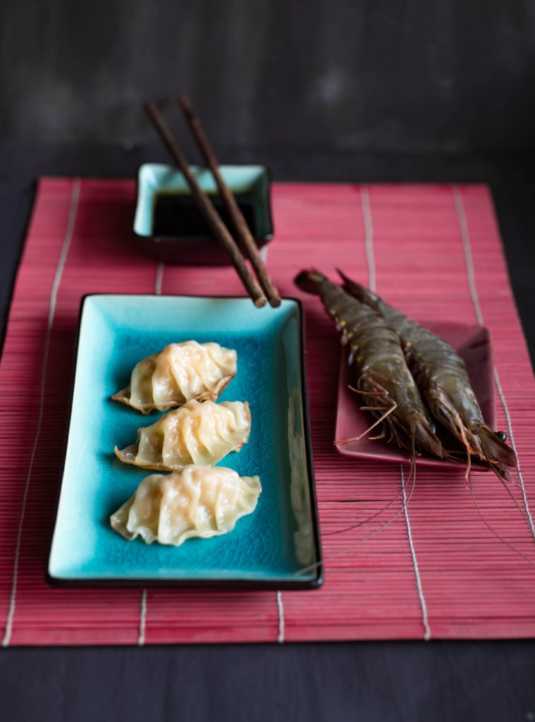 Shrimp Gyoza - Japanische Teigtaschen