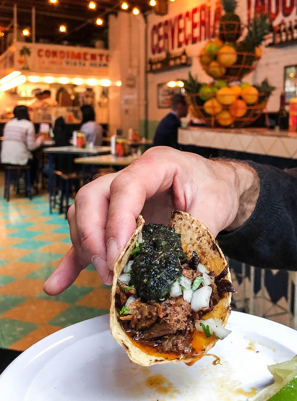 Barbacoa Taco Tacombi