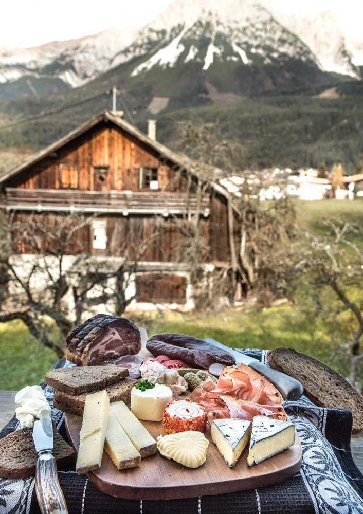Original Tiroler Marend oder wie eine gute Brettljause geht