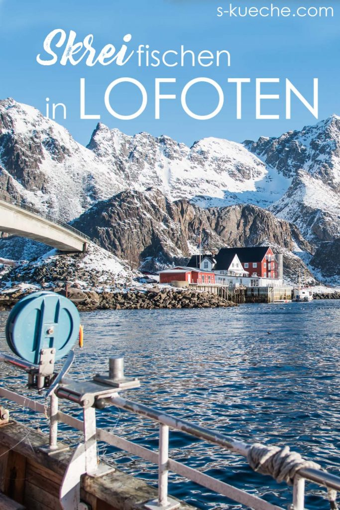 Mit den Fischern angeln in Lofoten.
