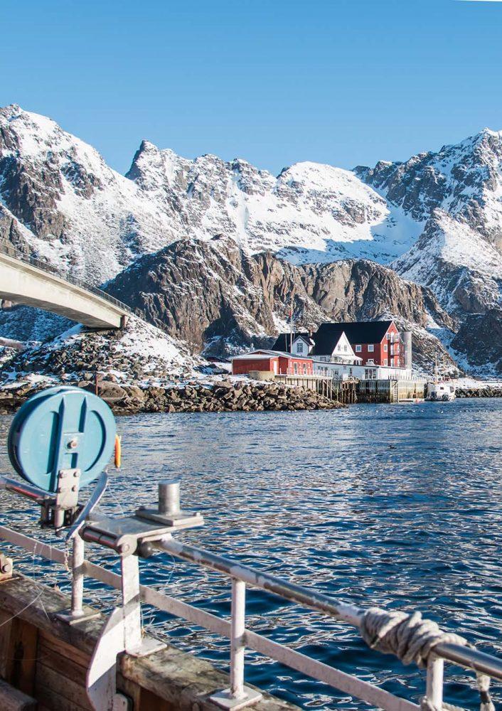 Mit den Fischern angeln in Lofoten. Unser Skrei Abenteuer im unsagbar schönen Norden von Norwegen