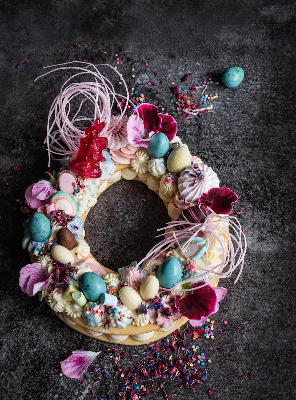 Frühlings Cream Cake - Mein Number-Letter Cake in der Oster- und Ganzjahres-Version