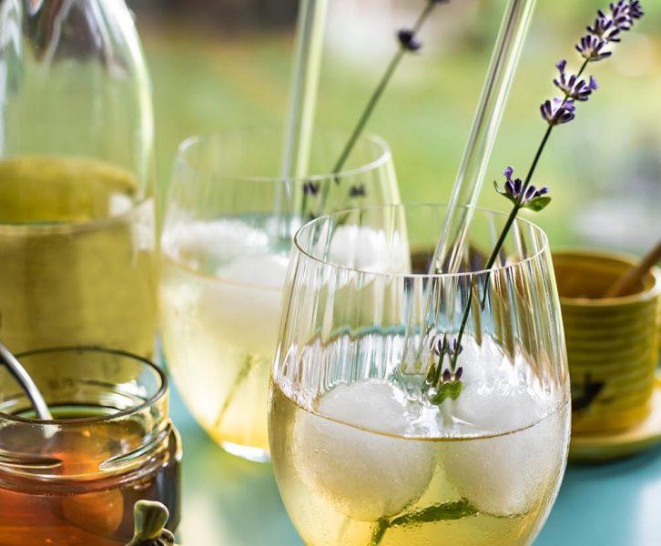Erfrischender Honey Cider Gin