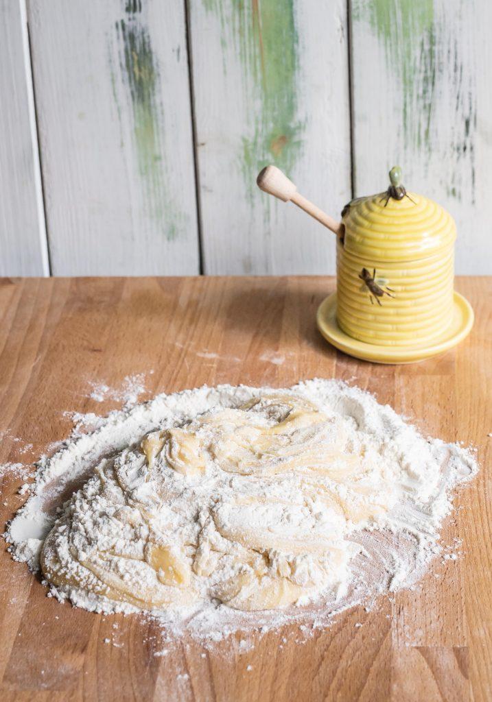Cream Cake mit Kaffee Creme nach Letter- und Number Cake Art
