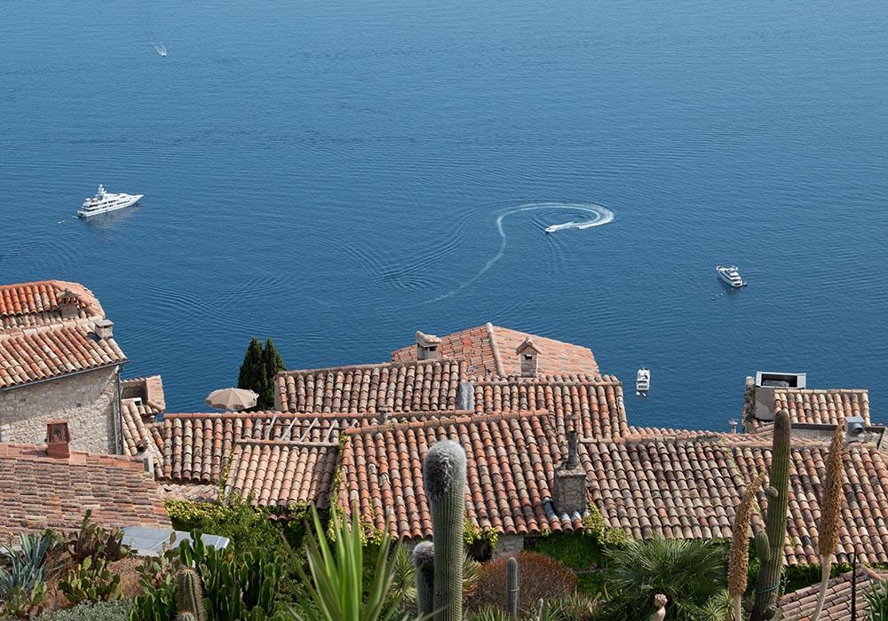 Sommer an der Côte d'Azur - Èze Village