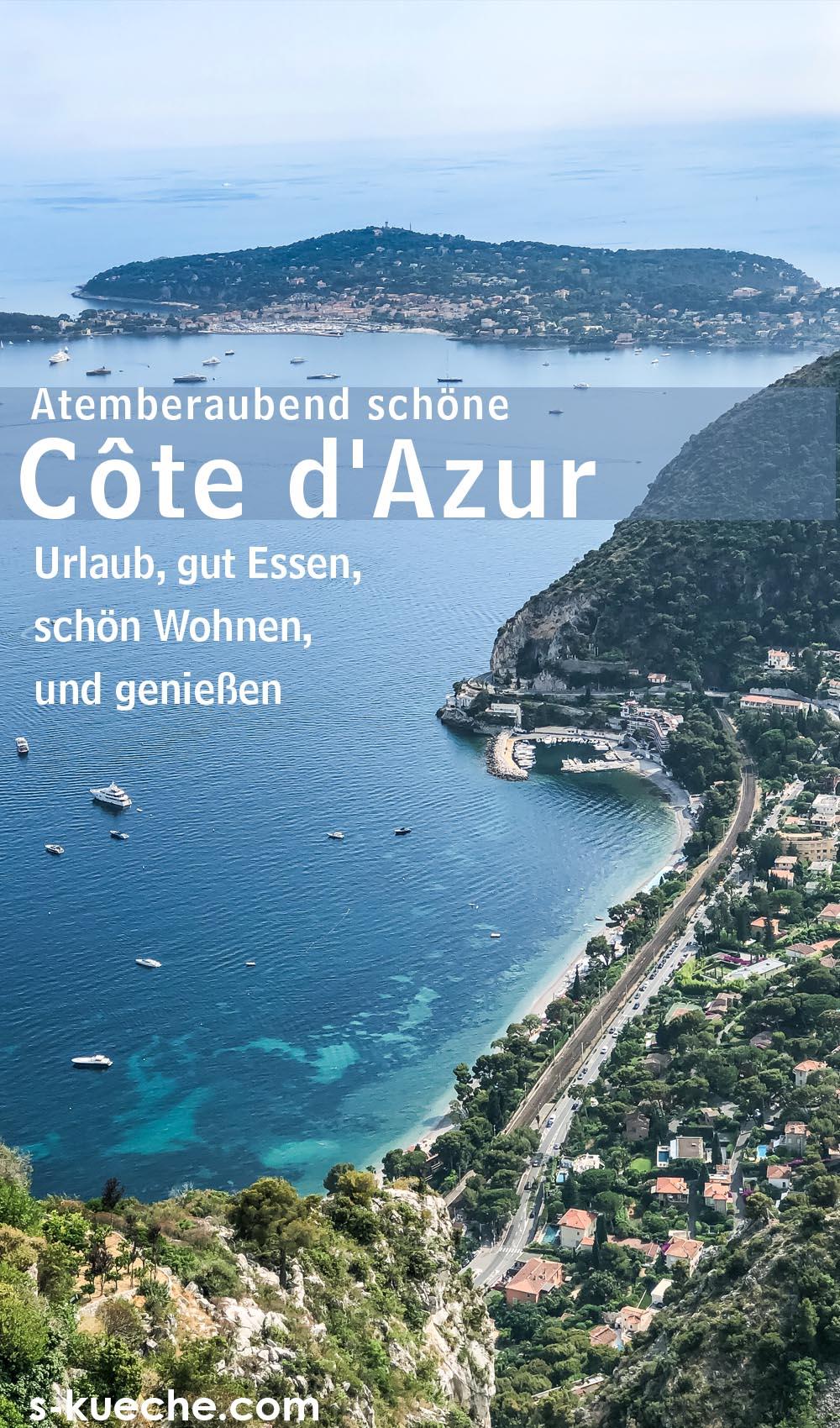 Sommer an der Côte d'Azur