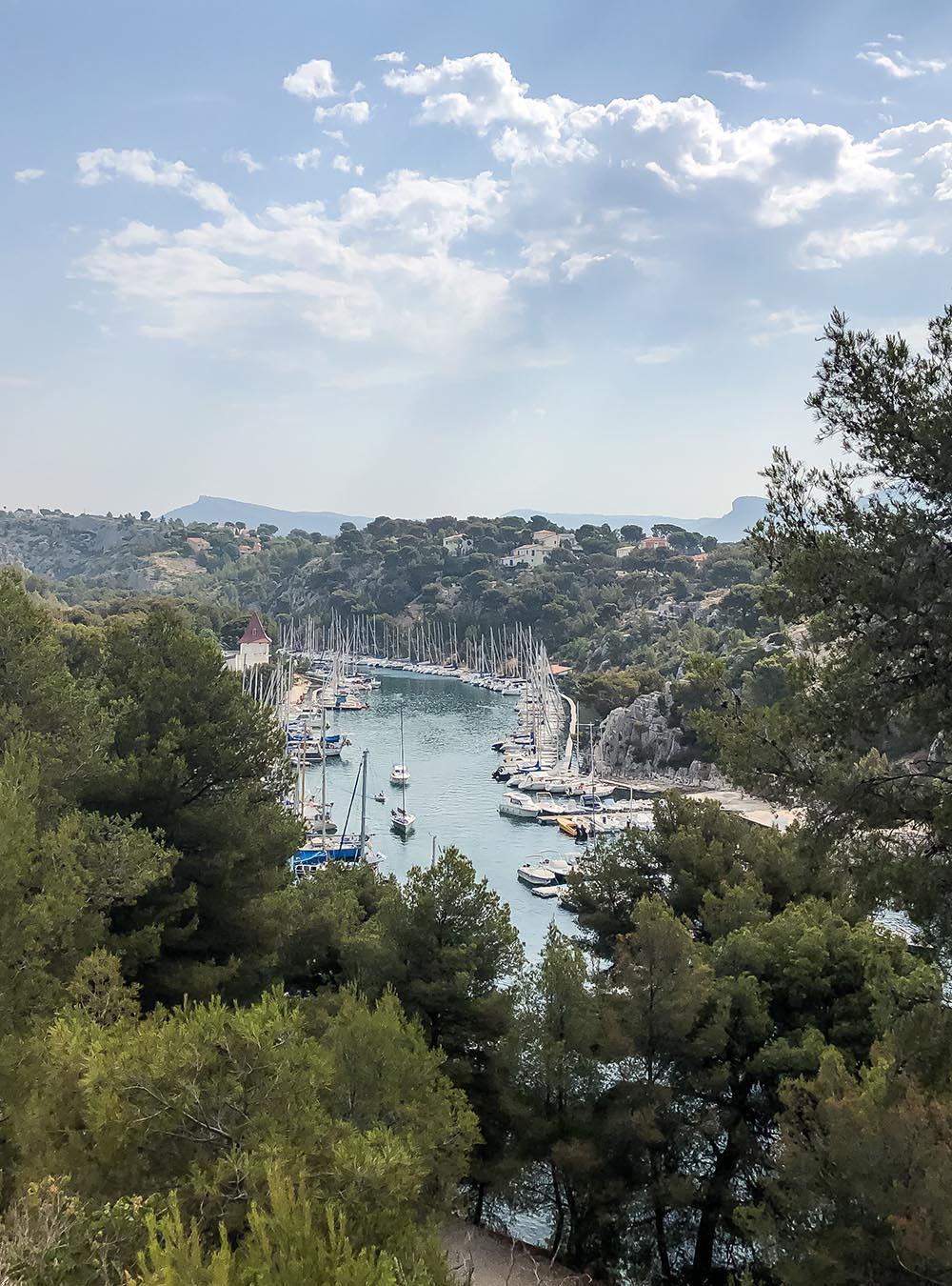 Sommer an der Côte d'Azur Calanque Port-Miou