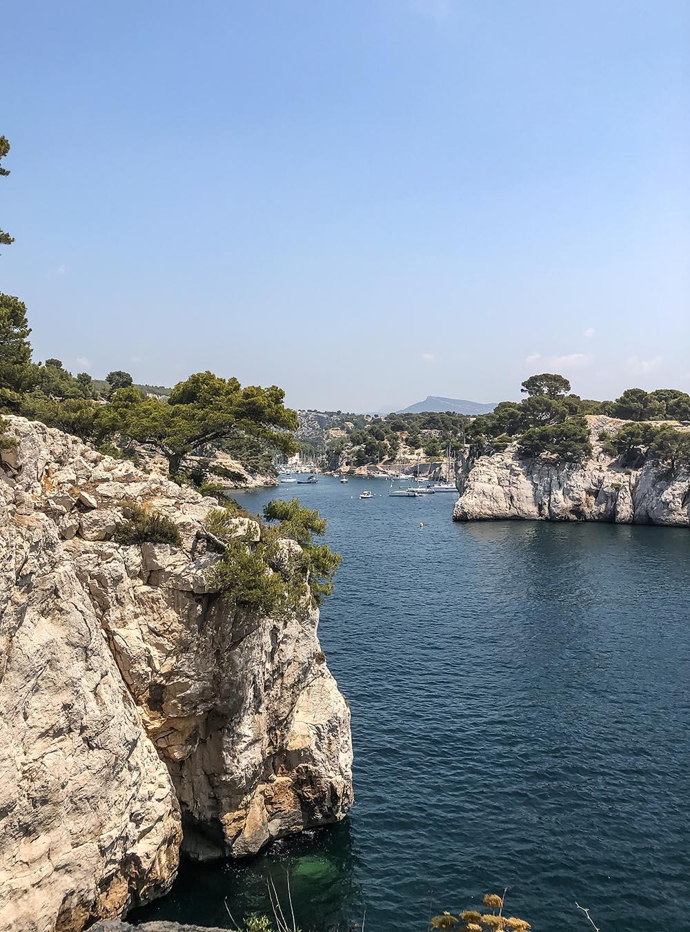 Sommer an der Côte d'Azur Calanques