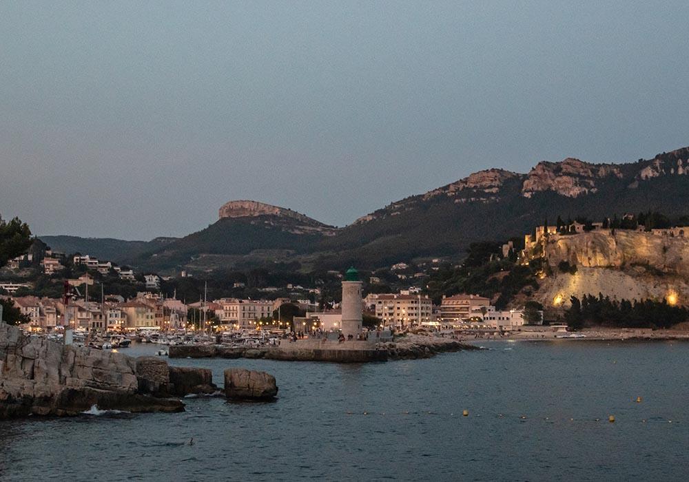 Sommer an der Côte d'Azur - Cassis