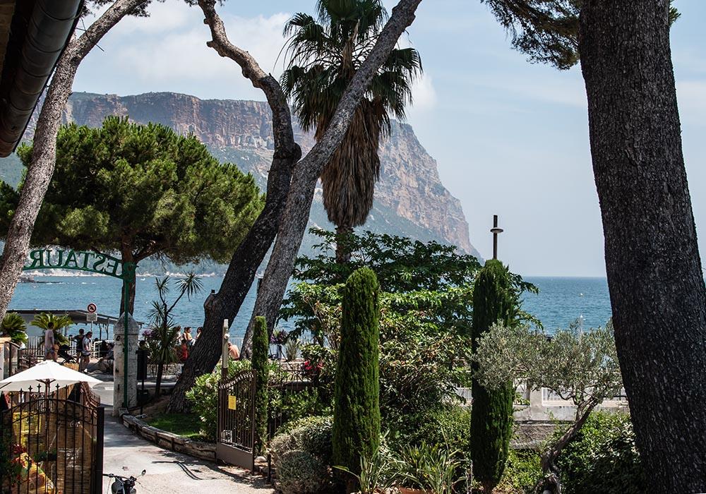 Sommer an der Côte d'Azur - Le Jardin D'Emile in Cassis