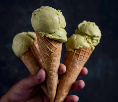 So geht richtig gutes Pistazieneis - Gelato al pistacchio