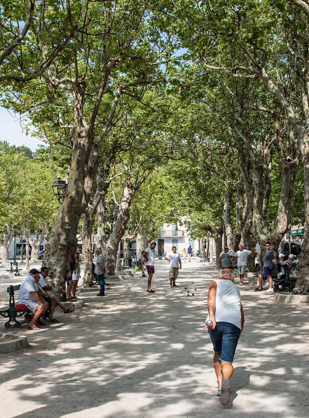 Sommer an der Côte d'Azur - Saint Tropez Petanque