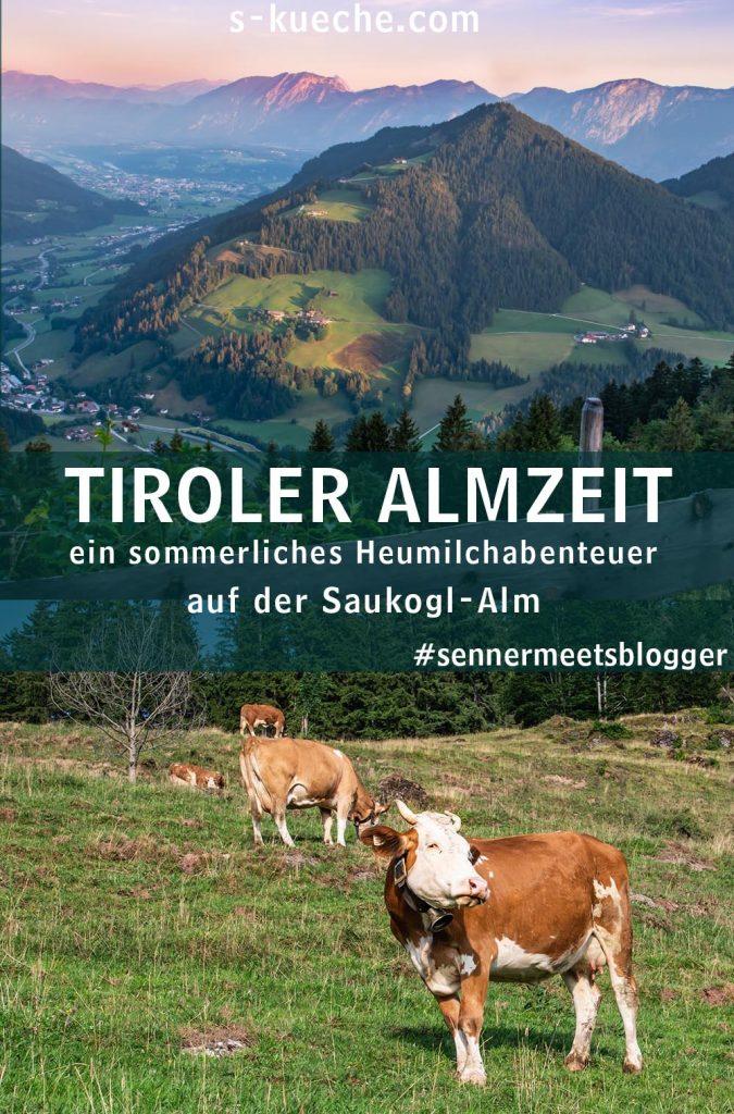 Kühe auf der Saukogl-Alm in Tirol