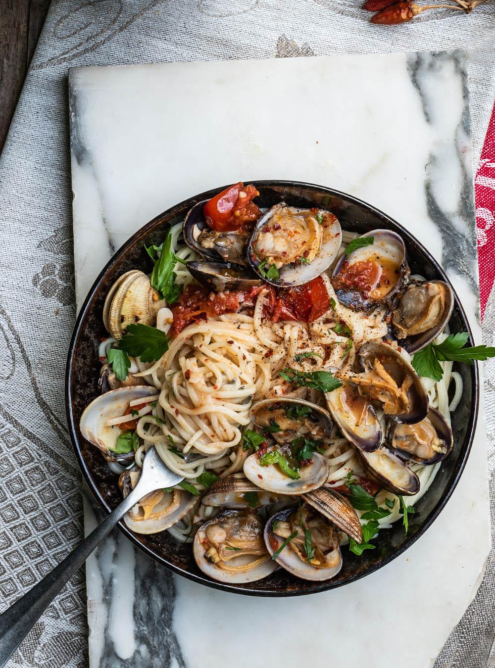 Spaghetti alle Vongole - der schnelle Klassiker mit Venusmuscheln