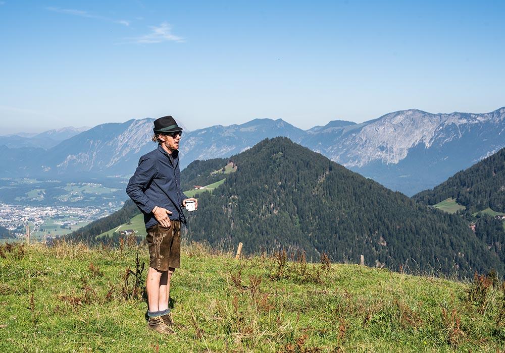 Mit Andi Eisenmann auf der Saukogl Alm