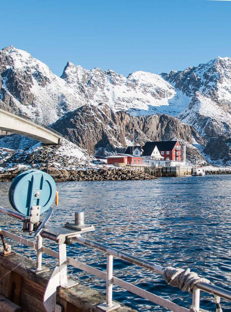 Skrei angeln in Lofoten