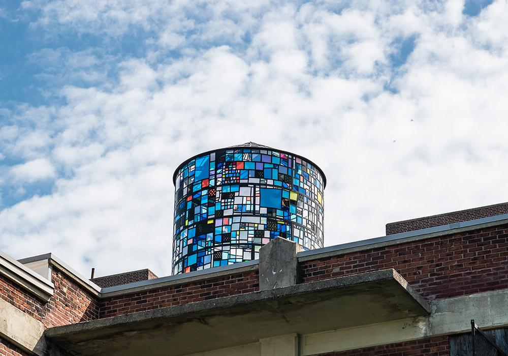 Brooklyn Guide - Blue Water Tower brooklyn Heights