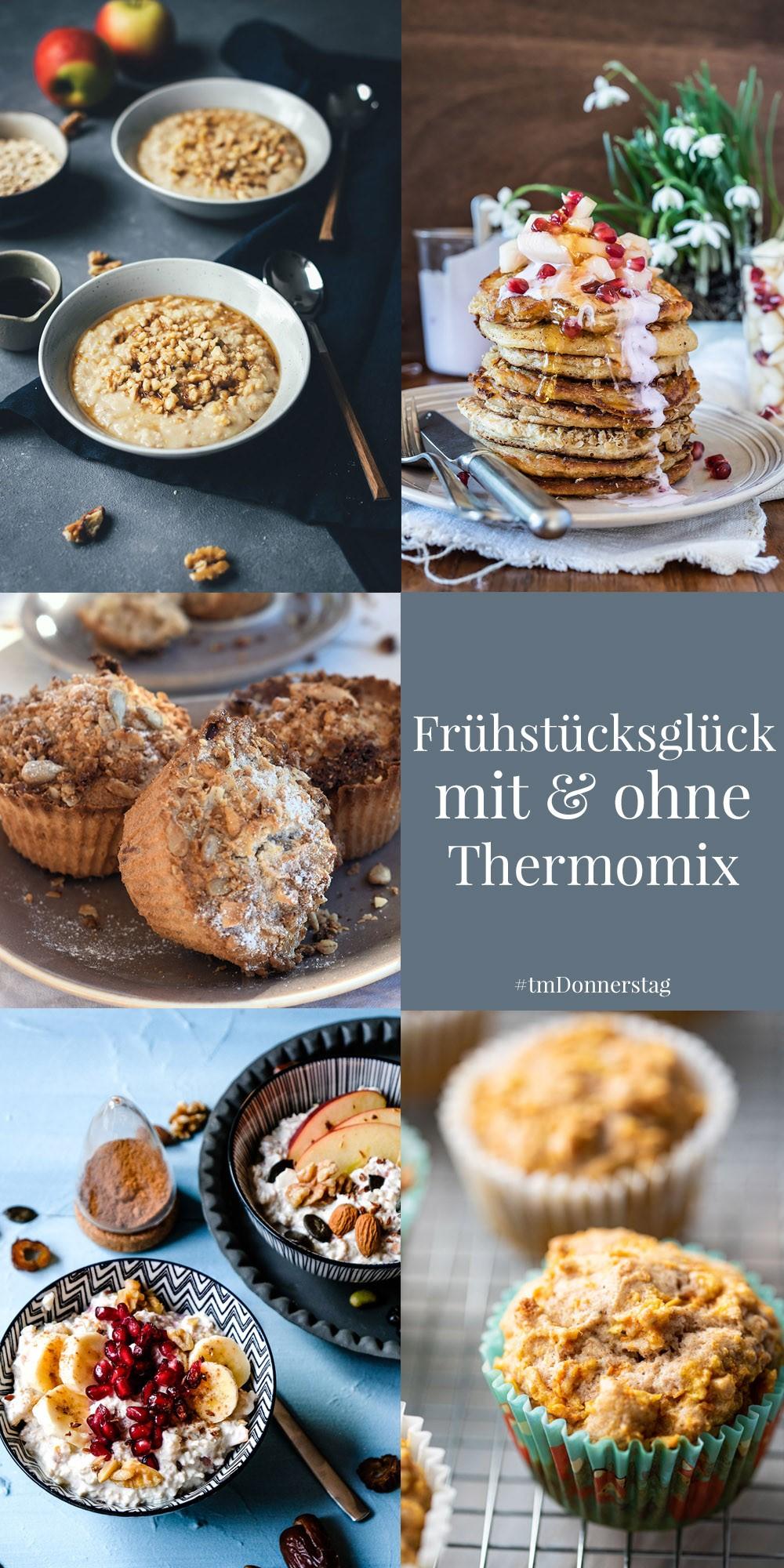 Frühstücksglück mit und ohne Thermomix
