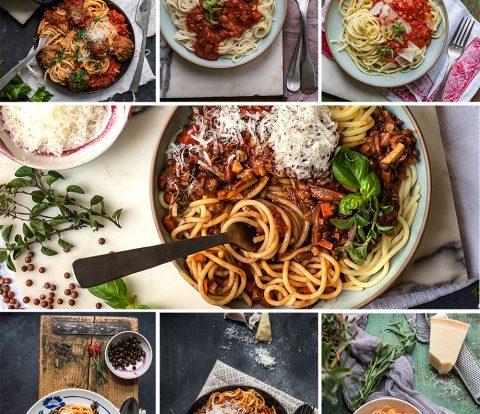 7 geniale Rezepte für Spaghetti mit Tomatensauce - unkompliziert, weltberühmt und immer unverschämt gut, jedes Pastagericht in 15-45 Minuten auf dem Tisch