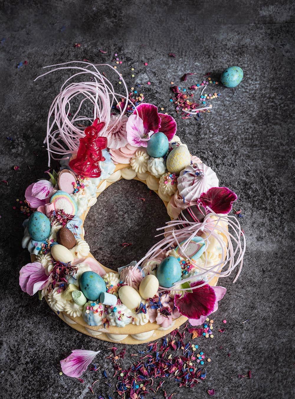 Die coolsten Osterrezepte - Oster Letter Cake