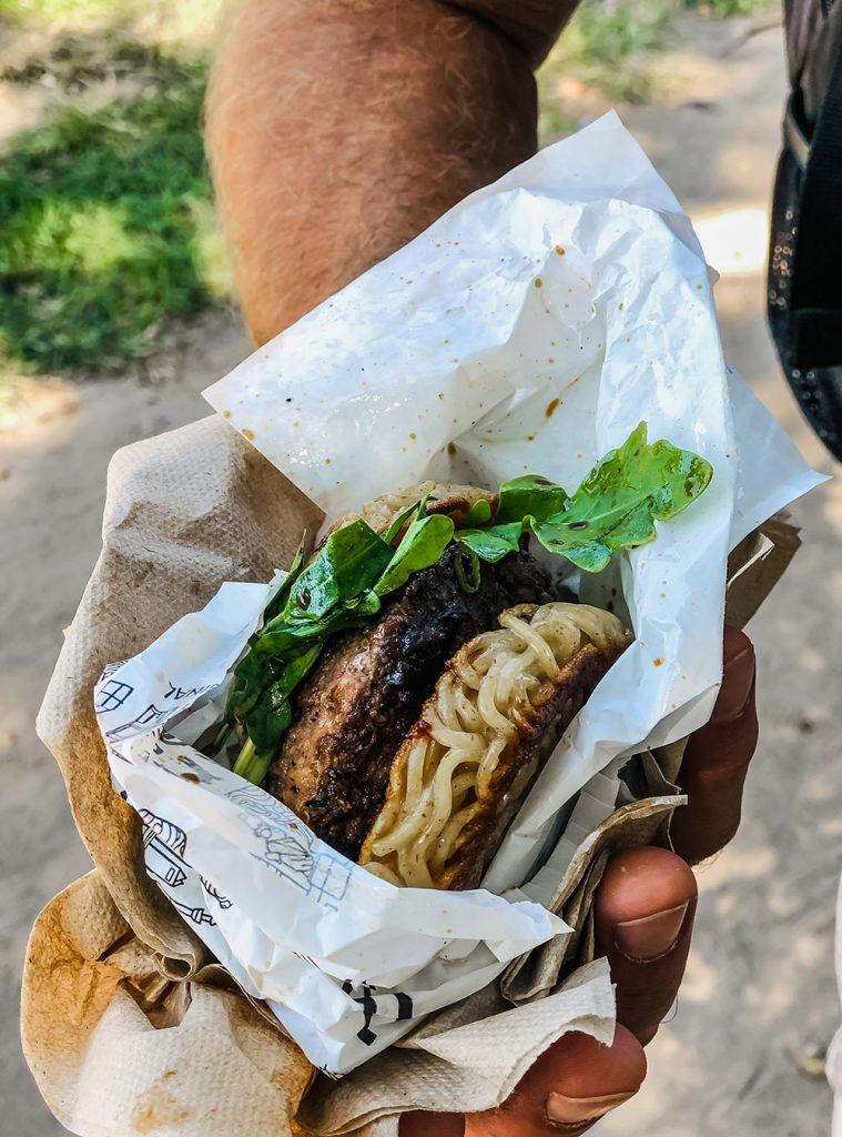 Original Ramen Burger