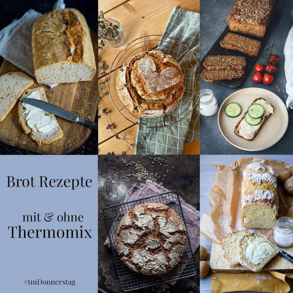 Rezepte mit und ohne Thermomix - Gutes Brot mit Zutaten aus dem Vorrat