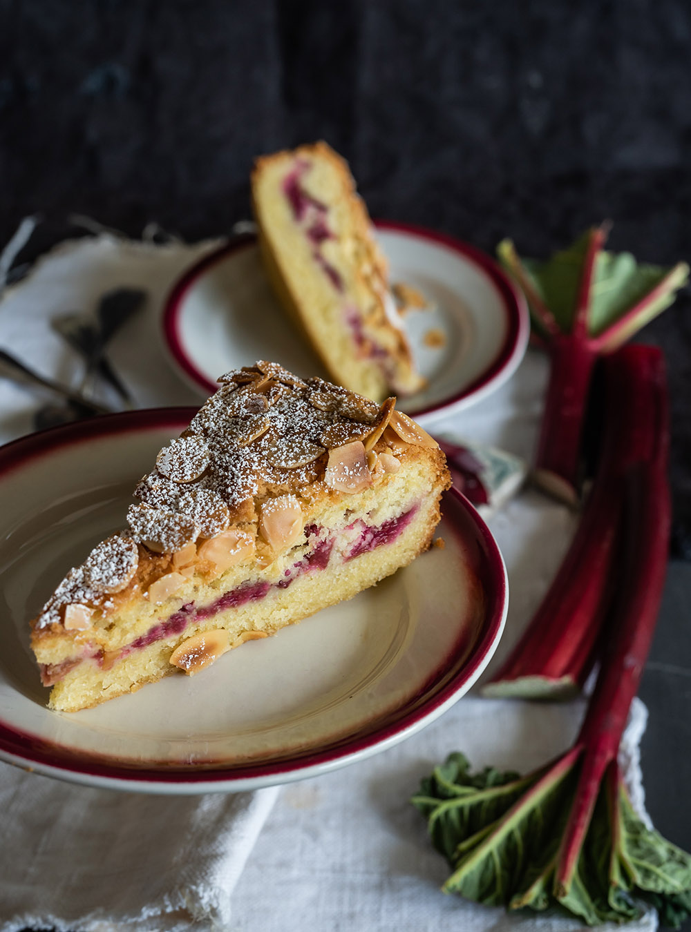 Ruck-Zuck Rhabarberkuchen mit soInstagram leckerem Mandelteig