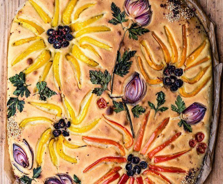 ocaccia Garden - der Blumen Brot-Trend 2020,
