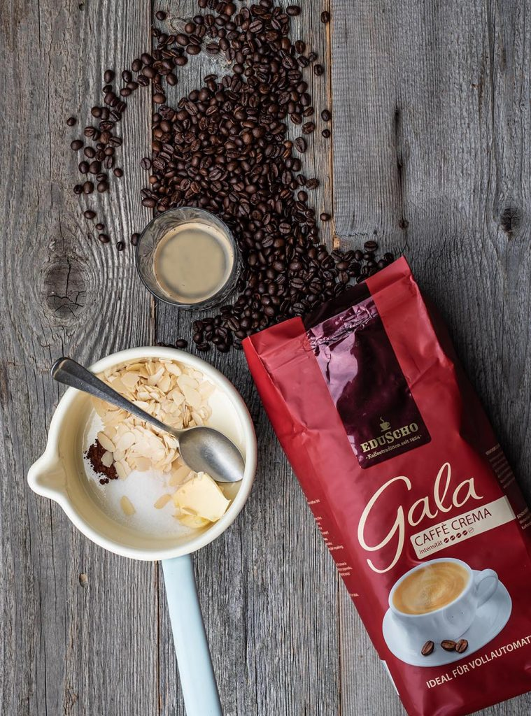 Kaffee-Knusper