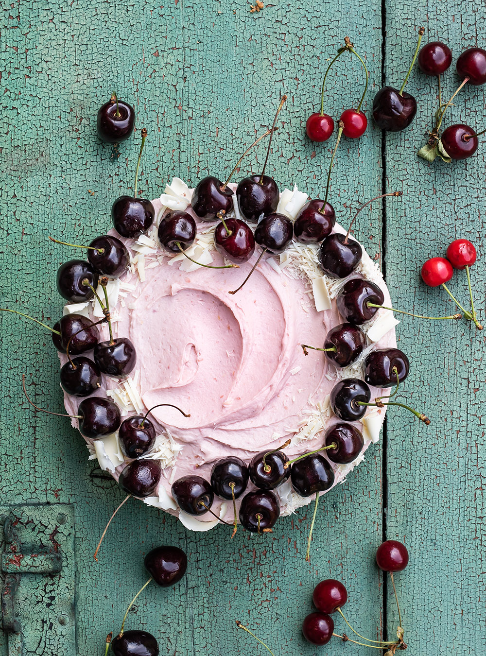 Cheesecake mit Kirschen - No Bake Cherry Dream