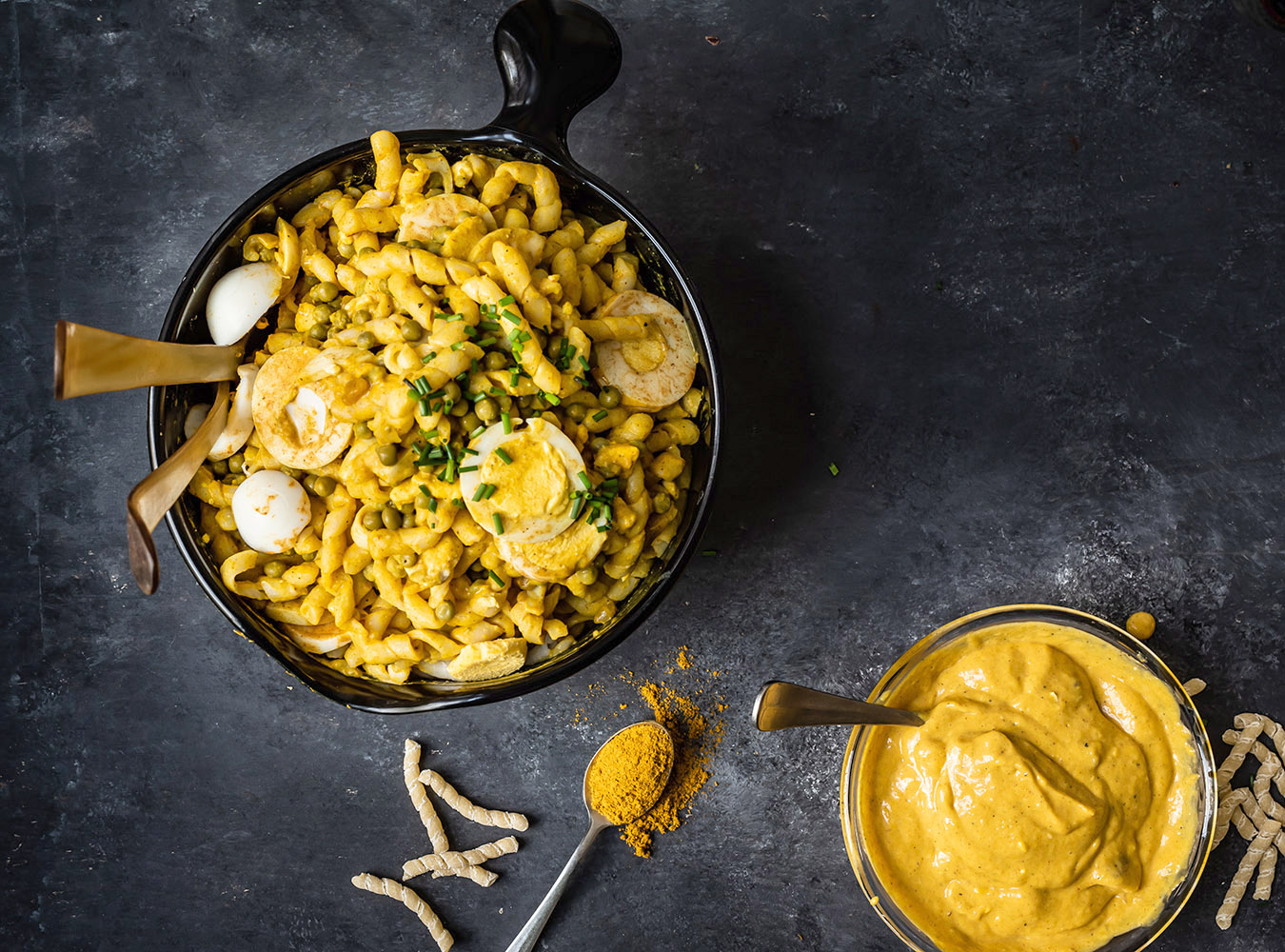 Curry Nudelsalat