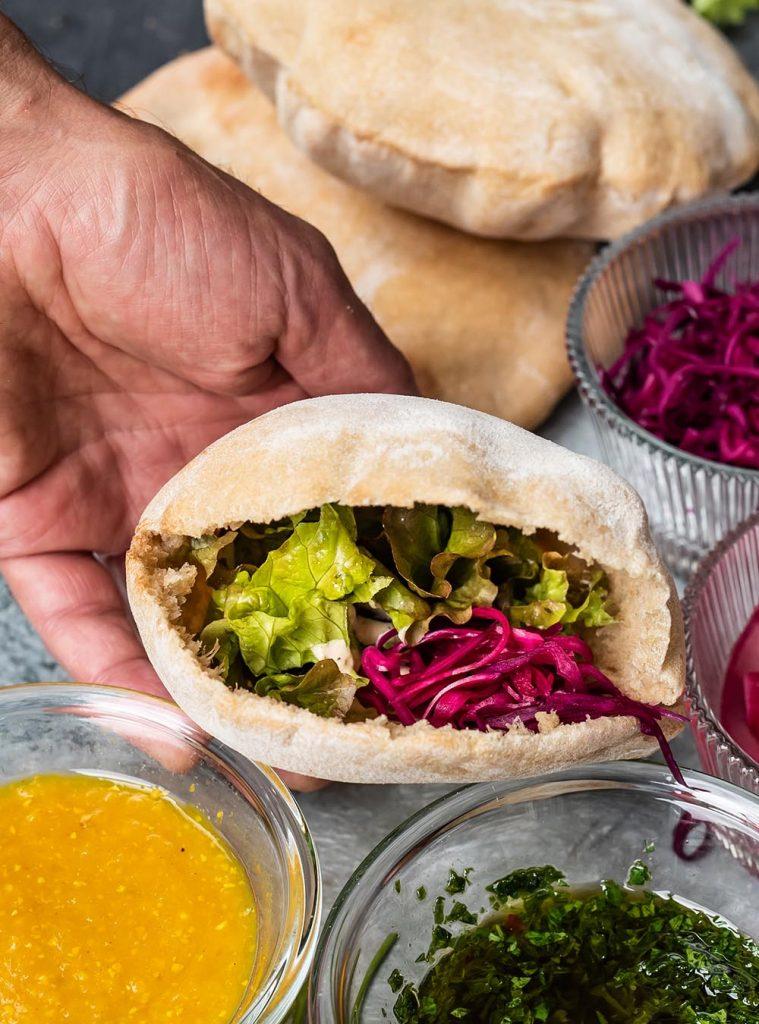Pita Brot - Pita-Taschen zum Füllen