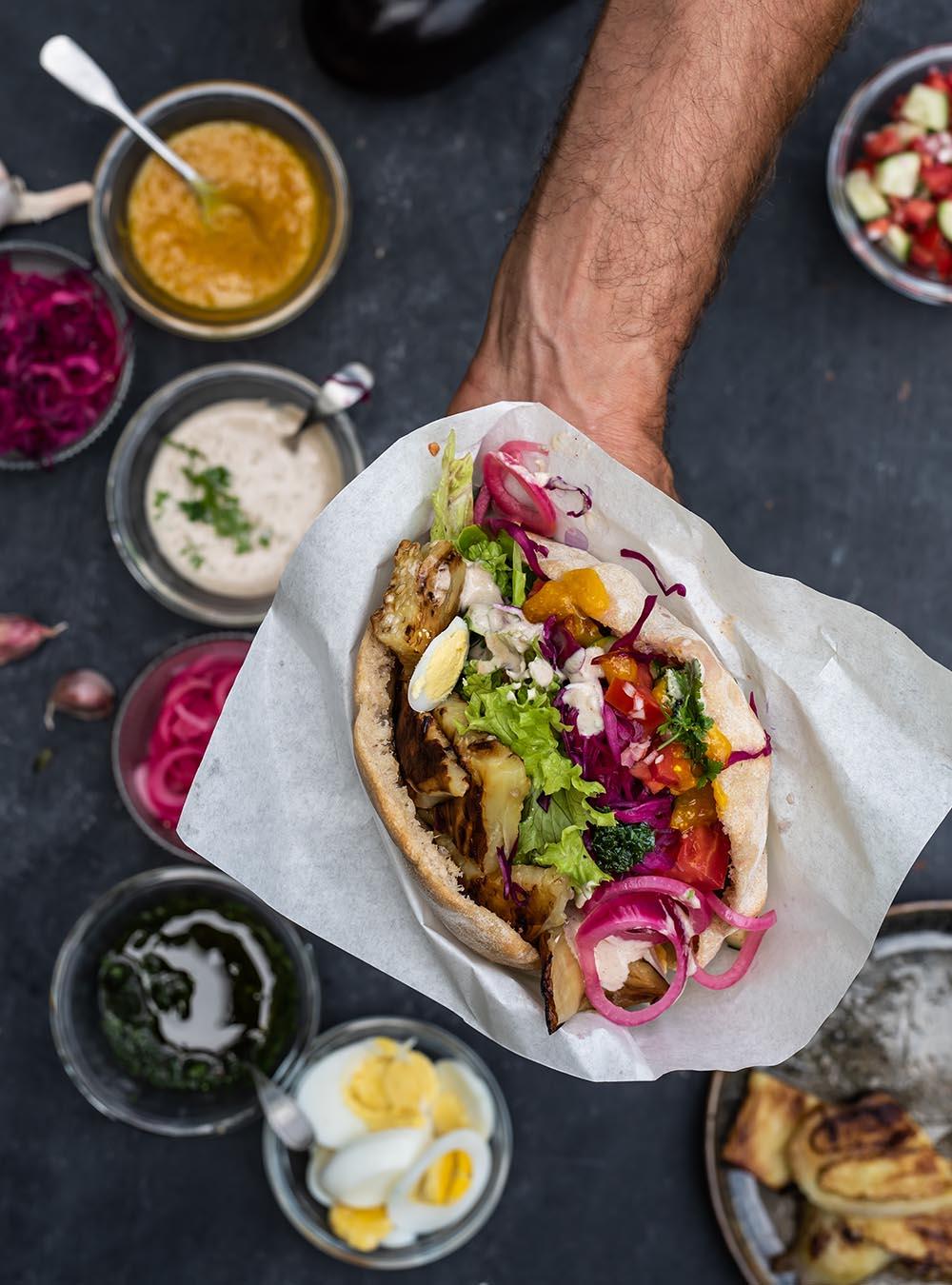 Sabich - Streetfood Sandwich Klassiker aus Israel