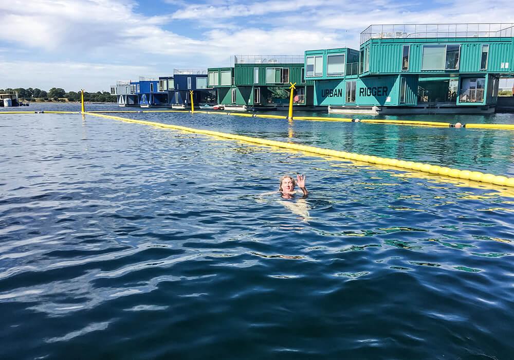 Schwimmen in Kopenhagen