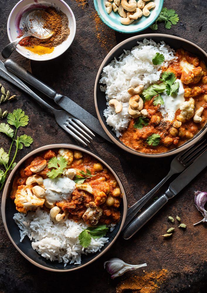 Veggie Tikka Masala - sehr gutes Veggie Curry in 30 Minuten