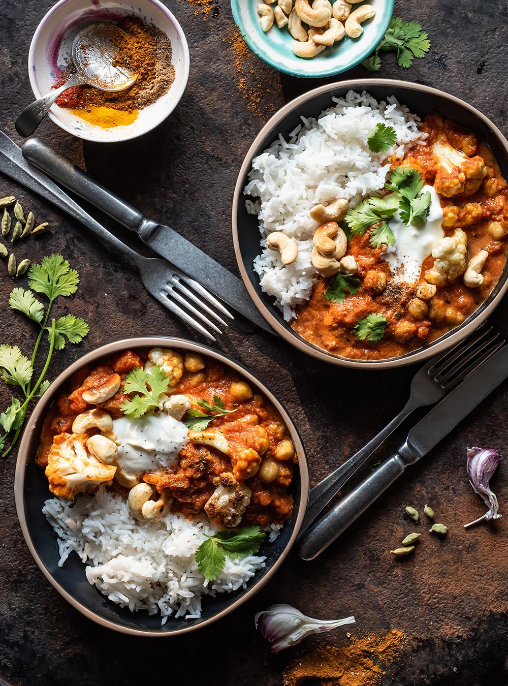 Veggie Tikka Masala - so einfach geht gutes Veggie Curry in 30 Minuten