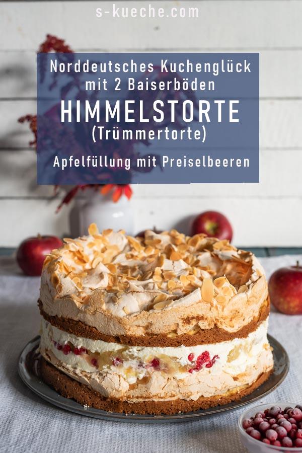 Himmelstorte - 2 Baiserböden für norddeutsches Kuchenglück