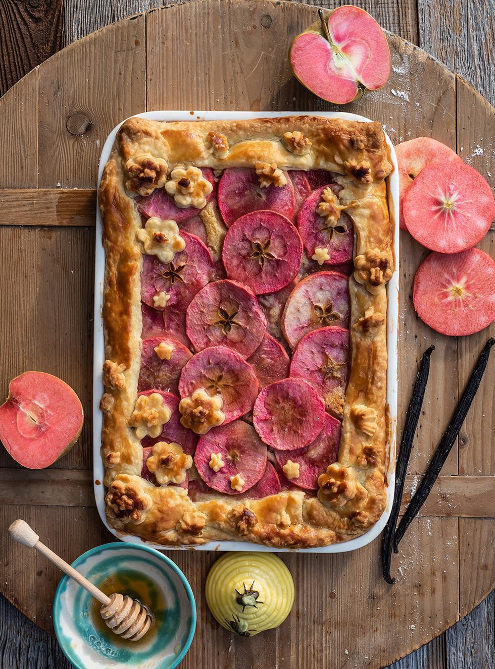 Vanille Apple Pie mit Mandelcrem