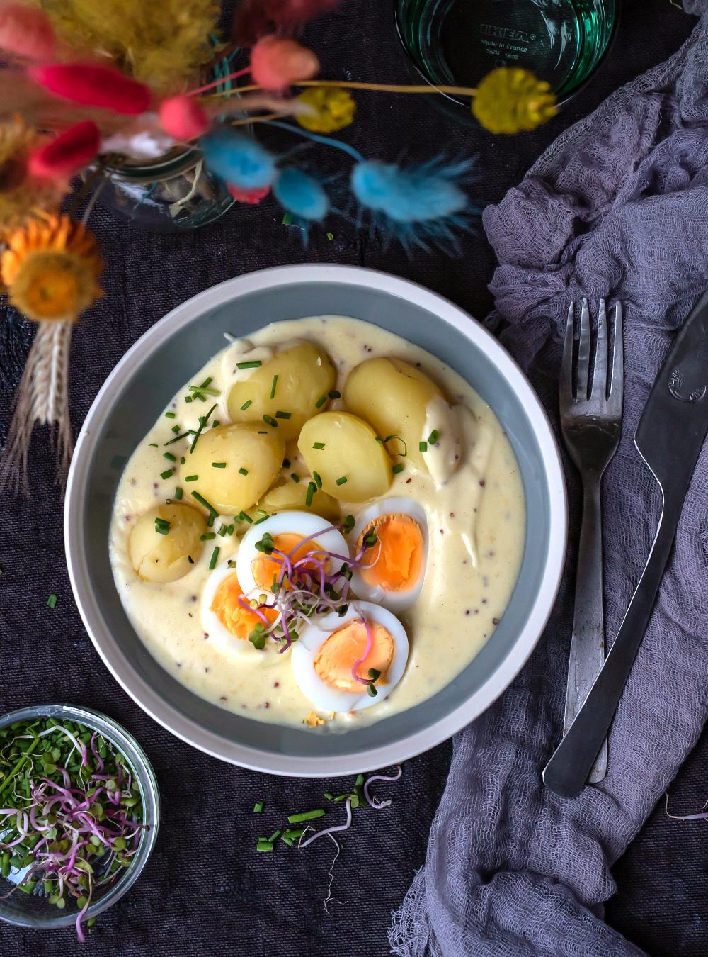 Eier in Senfsauce - Heimat Soulfood: Senfeier