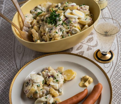 Kartoffelsalat - klassisch auf norddeutsche Art