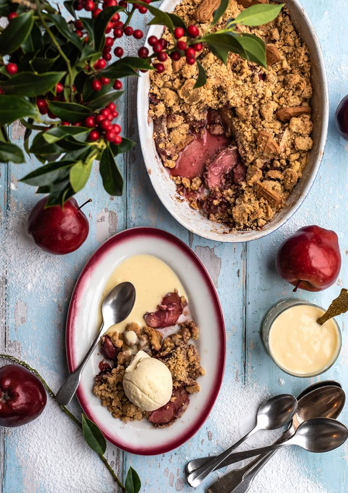 Quick & Easy Spekulatius Crumble